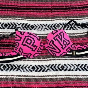 34B Victoria secrets pink bra